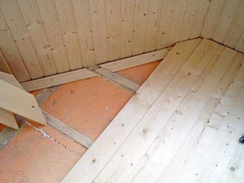 Утеплить пол в деревянном доме