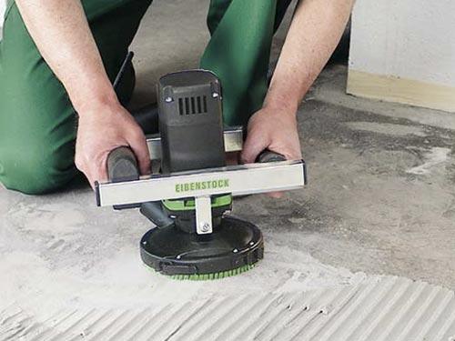 Шлифовка бетонного пола своими руками