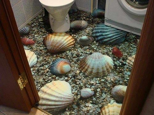 Заливные полы 3Д