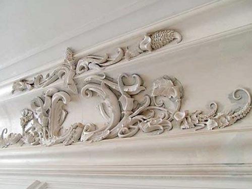 Лепнина на стенах и потолке своими руками