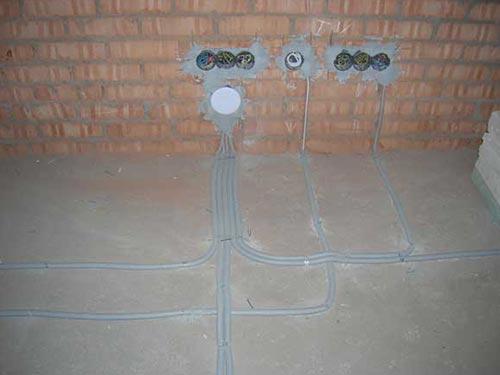 Как сделать разводку электропроводки