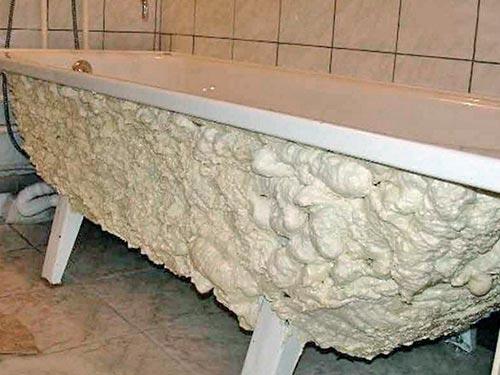 Шумоизоляция и утепление стальной ванны своими руками