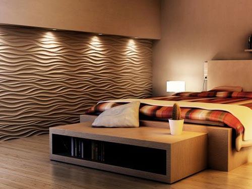 На фото декоративные панели для стен