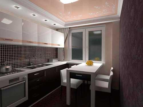 На фото дизайн маленькой кухни в хрущевке