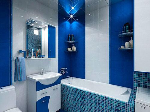 На фото интерьер ванной комнаты