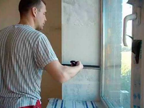 На фото откосы на окнах своими руками