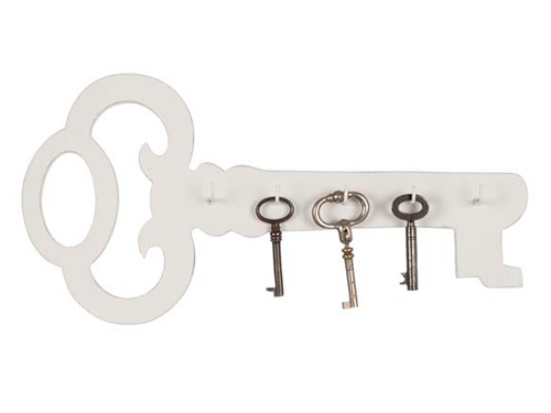 На фото вешалка для ключей