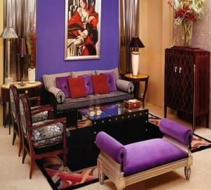 Роскошный интерьер квартиры в стиле арт-деко
