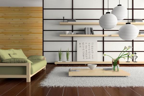Японский минимализм в интерьере квартиры