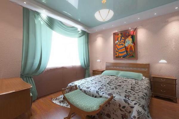 Правильное освещение в спальне увеличивает её пространство вдвое