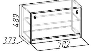 Эскиз шкафа для обуви