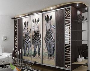 Шкаф декорированный виниловой плёнкой