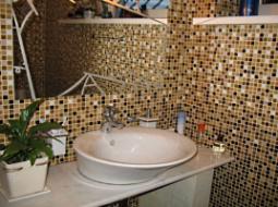 Мозаика в ванной комнате: виды и особенности, лучшие варианты отделки и фото-примеры