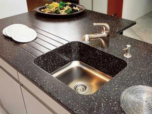 Кухонные мойки из камня