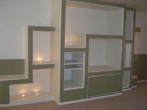На фото показано как сделать книжную полку для книг