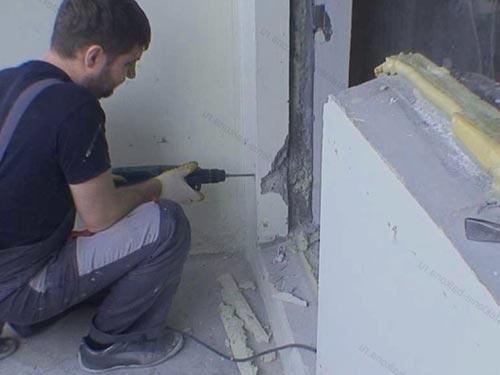 Установка балконного блока своими руками