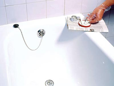 Ремонт чугунной ванны: эмаль, акрил