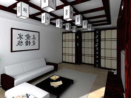На фото светильники в китайском стиле