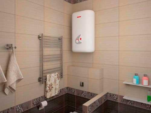 На фото накопительный водонагреватель