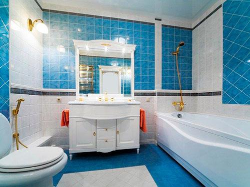 На фото светильники для ванной комнаты