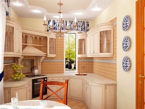 На фото кухня в стиле кантри