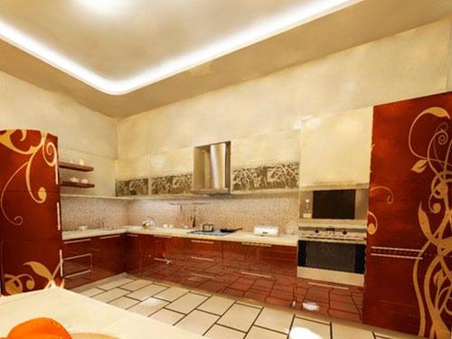 На фото кухня в стиле модерн