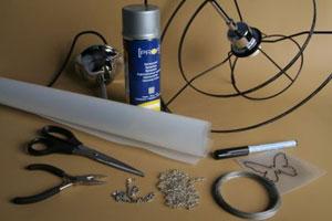 Инструменты для создания люстры