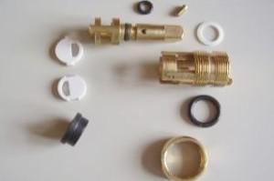 Механизм с керамическими вставками