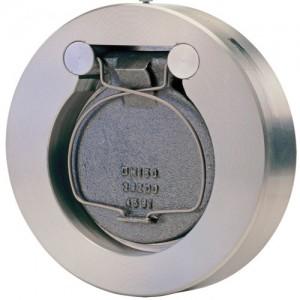Одностворчатый лепестковый клапан с пружиной