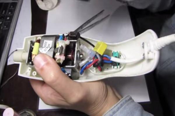 Разборка блендера ручной модели