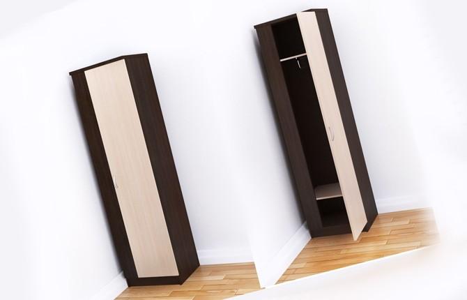 Одностворчатый шкаф для комнаты