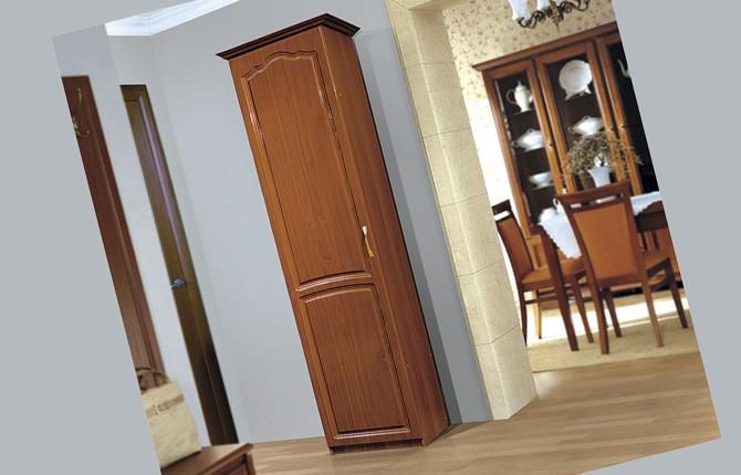 Одностворчатый шкаф для коридора