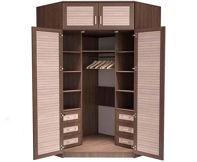 Распашная конструкция шкафа