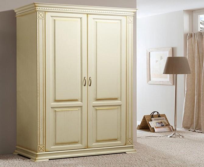 Двухстворчатый шкаф в стиле прованс