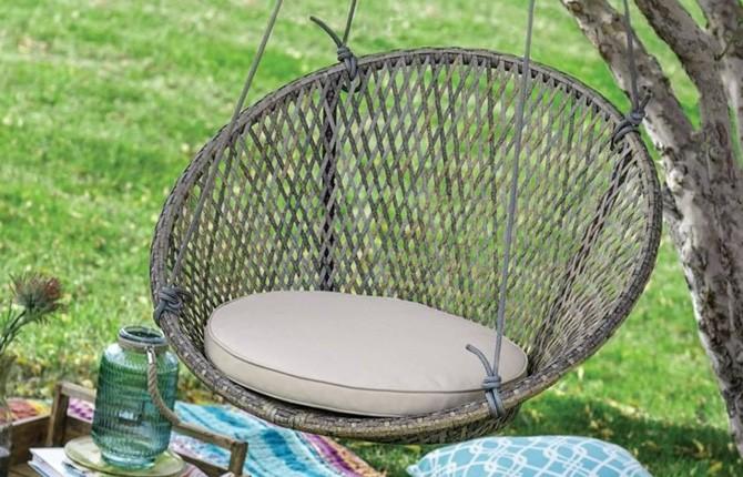 Садовое кресло папасан