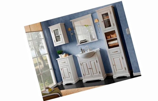 Напольный шкаф для ванной