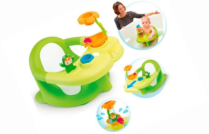 Стульчик для купания малыша в ванной