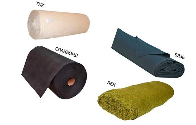 Материалы для обшивки стула